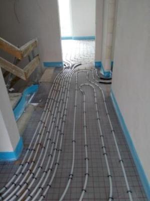 Fußbodenheizung 3
